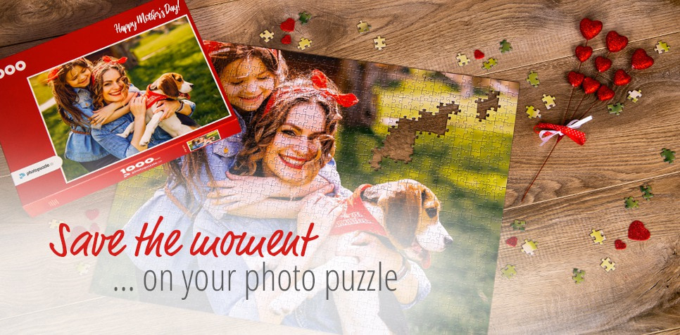 Your picture on a photo puzzle: A creative gift for Mothering Sunday