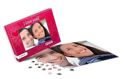 Gift idea photo puzzle