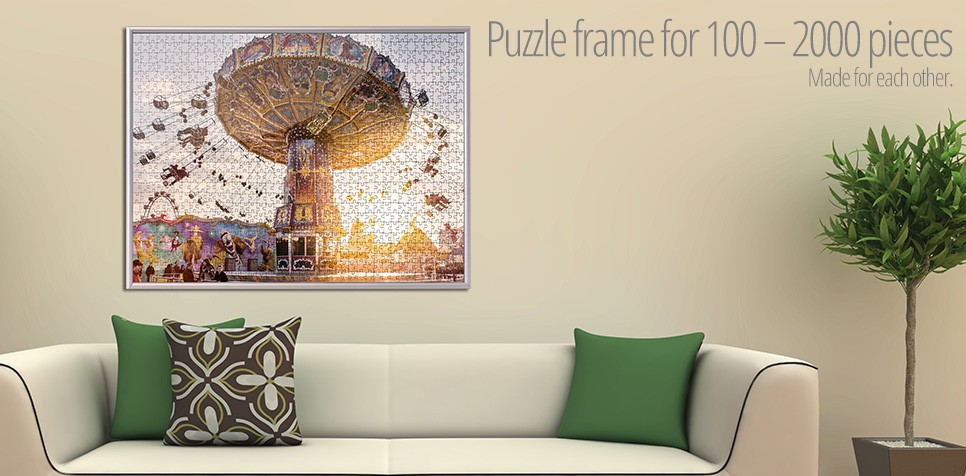 Puzzle frame for 100 - 2000 pieces