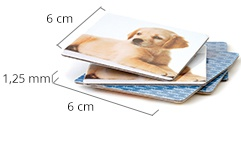 Size of the Photo Pairs cards