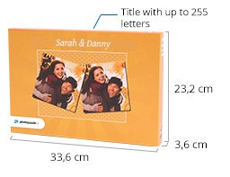 Size of the Photo Pairs game box