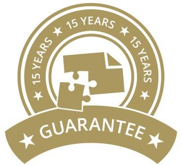 15-Year Guarantee on jigsaw puzzles