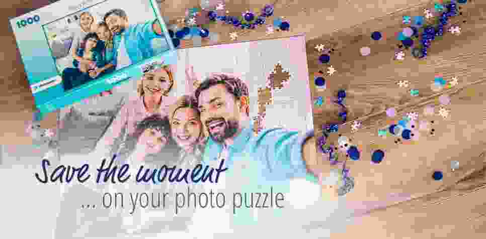 Create your personal photo puzzle with photopuzzle.ie