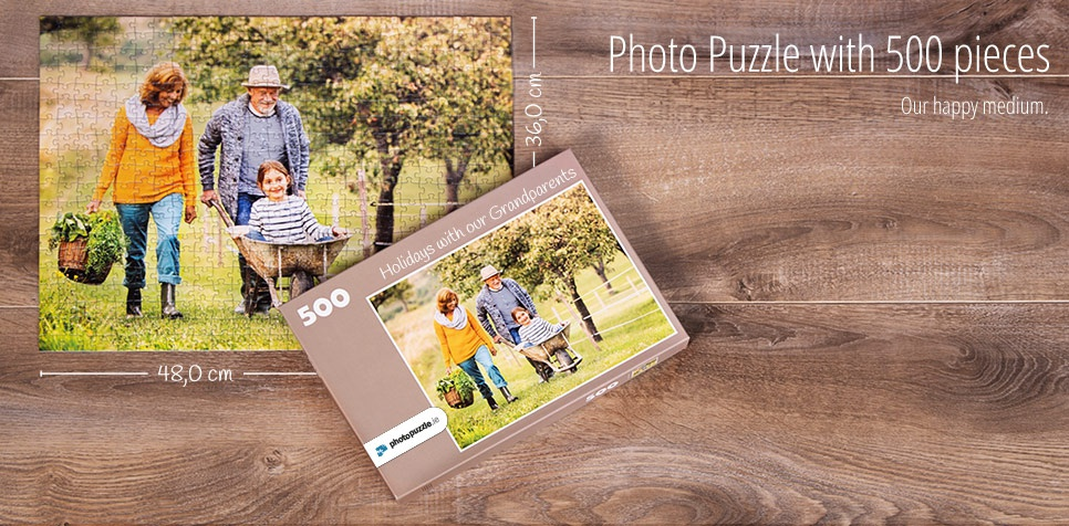 500 pieces photo puzzle